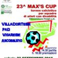 Sabato 22 settembre 2018 alle ore 14.30 presso il campo di calcio dell'oratorio di Maddalena avrà luogo la 23^ edizione della Max's Cup, torneo che vedrà la partecipazione di quattro squadre di calcio formate da […]