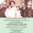 """Giovedì 7 febbraio 2019 alle ore 18.00, presso la Biblioteca Civica di Varese, in via Sacco 9, si terrà la presentazione del libro di Stella Bolaffi, """"Il mio romanzo familiare. Le donne, i cavallier, l'arme, […]"""