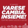 Mercoledì 27 marzo alle 20.30 nel teatro Santuccio di Varese (via Sacco 10) si terrà una serata di confronto con lo sguardo rivolto in avanti. La serata invita a partecipare, dialogare e condividere in quanto […]