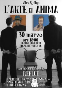 L'Arte ci Anima al Teatro Conforti di Parma in occasione