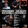 Domenica 26 maggio alle ore 21 si esibirà all'Area 101 di Olgiate Olona il quartetto all stars composto da Pieranunzi al piano, Ceccarelli alla batteria, Dulbecco al vibrafono e Bulgarelli al contrabbasso con ospite la […]
