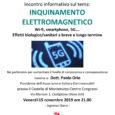 """L'Associazione Italiana Elettro Sensibili organizza per venerdì 15 novembre ore 21.00 al Castello di Monteruzzo di Castiglione Olona (Via Marconi, 1) un incontro dal titolo """"Inquinamento Elettromagnetico: Wi-Fi, smartphone, 5G… effetti biologico sanitari a breve […]"""