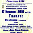 In collaborazione con Albero Musicale Saronno e con il Patrocinio del Comune di Tradate l'Orchestra Filarmonica Europa Giovani organizza una serata ricca di musica in programma il 17 novembre alle 17,30 a Tradate (Viale Ruffini […]