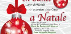 """Si chiama """"In Canto a Natale"""" ed è la rassegna di canto corale promossa dall'Associazione Solevoci che farà tappa in sei quartieri di Varese nei sabati e domeniche che separano dal Natale. Nome noto per […]"""