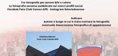 """Foto Club Varese APS propone un nuovo progetto online: """"100 metri intorno a me"""". E' la quarta iniziativa che l'associazione varesina organizza ed è aperta gratuitamente a tutti gli appassionati di fotografia che osservano il […]"""